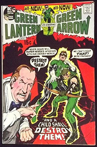 GREEN LANTERN #83 VF GREEN ARROW NEAL ADAMS