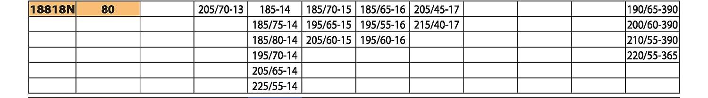 /ÖNORM Gr/ö/ße 120 9 mm Bottari 18832: Schneeketten Rapid T2