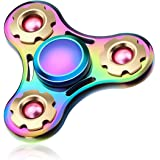 ATESSON Fidget Spinner Toy, Ultra Durable Stainless Steel Bearing High Speed Spins Precision Metal Hand Spinner, EDC ADHD Focus Anxiety Stress Relief Boredom Killing Time Toys
