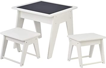 Chalk Board Table Set with 2 chairs.