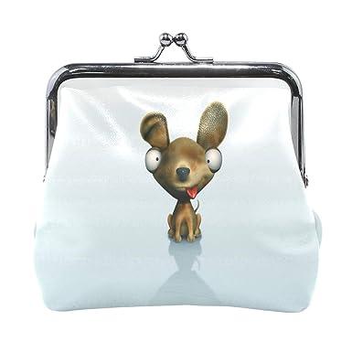 Amazon.com: Monedero 3D para perro, para mujer, bolso de ...