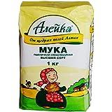 Aieuka艾利客 小麦粉 俄罗斯原装进口 (1kg/袋)