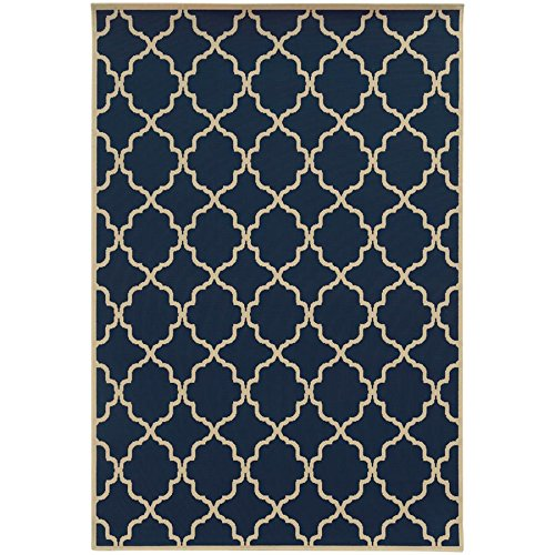 - Oriental Weavers 4770L Riviera Collection Area Rug, 2'5 x 4'5
