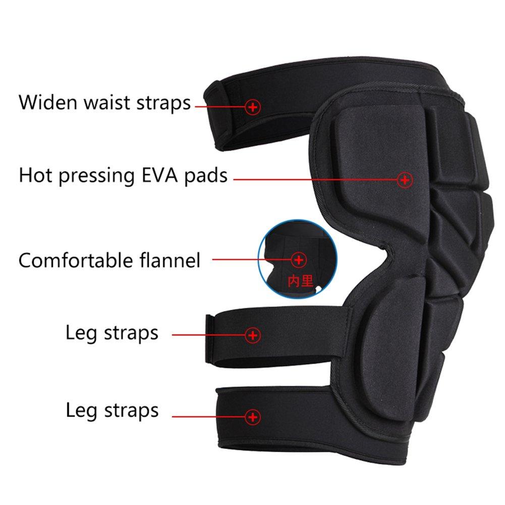 Protective Gear Guard Ski Skiing Skating Snowboard for Men Women Zeeon 3D Padded Protection Hip 0.8 EVA Pad Short Pants