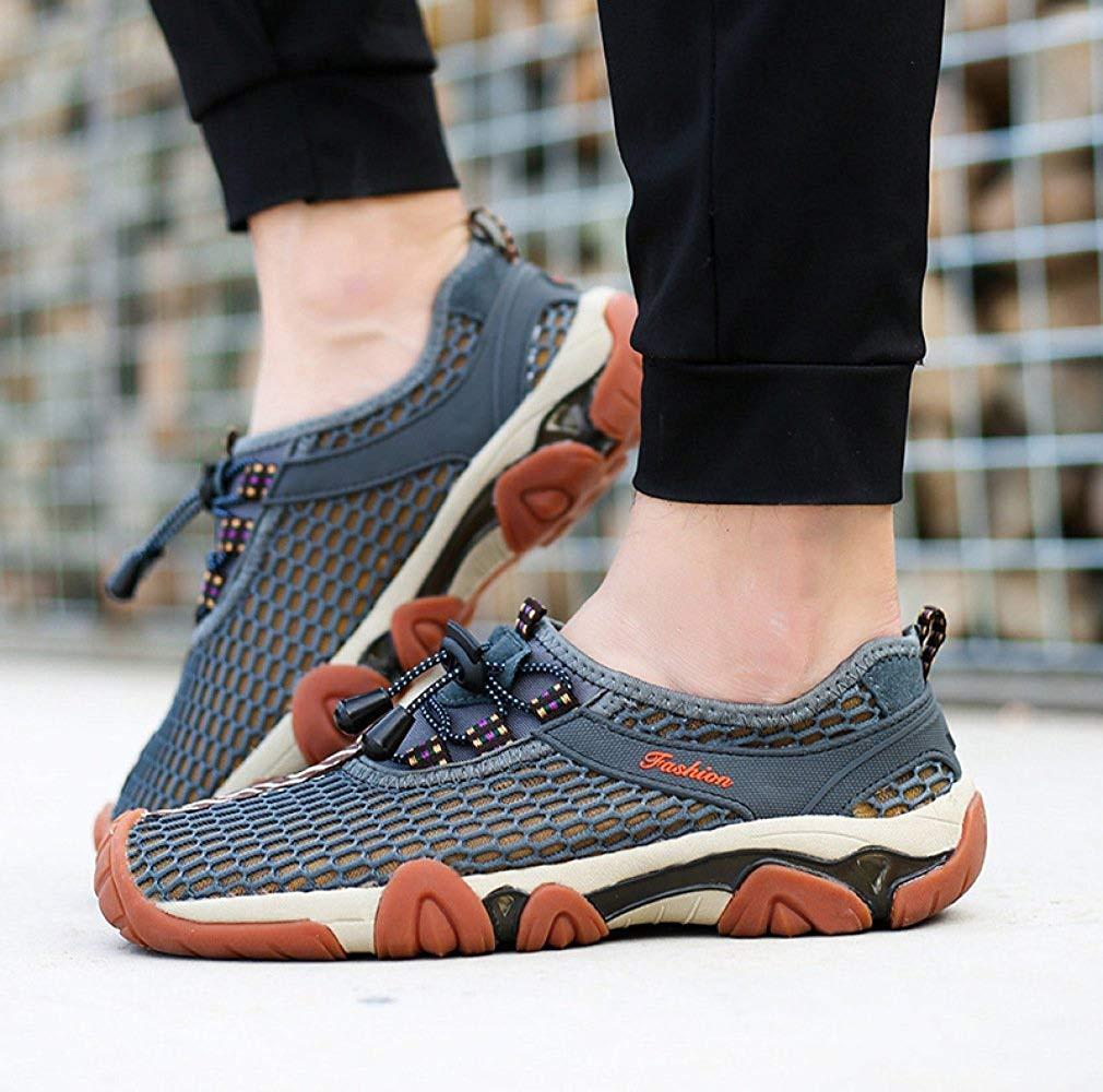 Fuxitoggo Hohe Qualität Herren Outdoor Sandalen Wanderschuhe Wasser Schuhe Schuhe Schuhe Casual Sportschuhe Fashion Breathable Net Schnell Trocknende Strandschuhe Verbesserte Version (Farbe   Grau, Größe   43EU) 62c41c