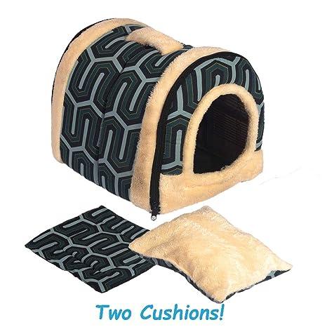 ANPI 2 en 1 Casa y Sofá para Mascotas, Lavable a Máquina Casa Cama de Perro ...