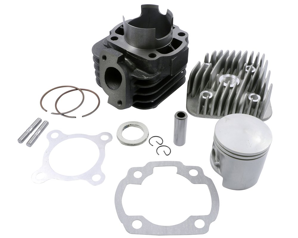 Vabene Kit cylindre 70cc 2EXTREME Sport 12mm pour KREIDLER Galactica 2.0 50cc Jigger Hiker