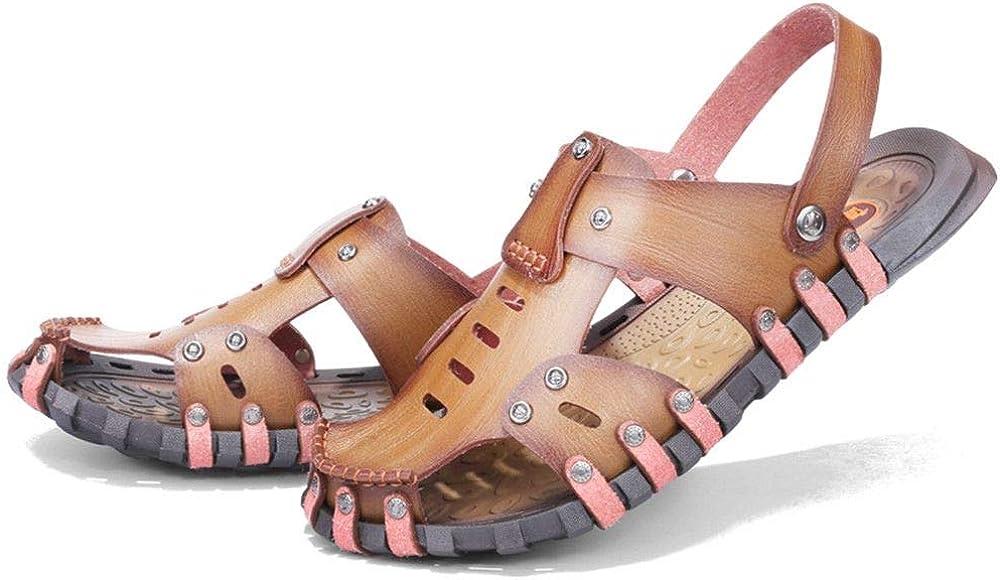 Men Sandals Men Beach Shoes Brand Men Casual Shoes Men Slippers Split Leather Sneakers Flip Flops Summer Shoes