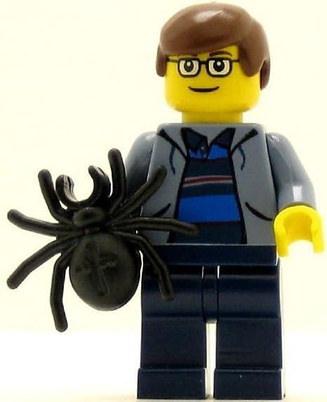 Black Legs Spider-Man Minifigure Lego Peter Parker 3 4856 Sand Blue Vest