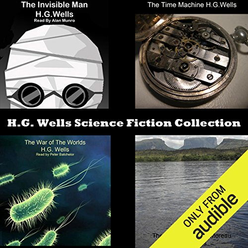Bargain Audio Book - H G  Wells Science Fiction Collection