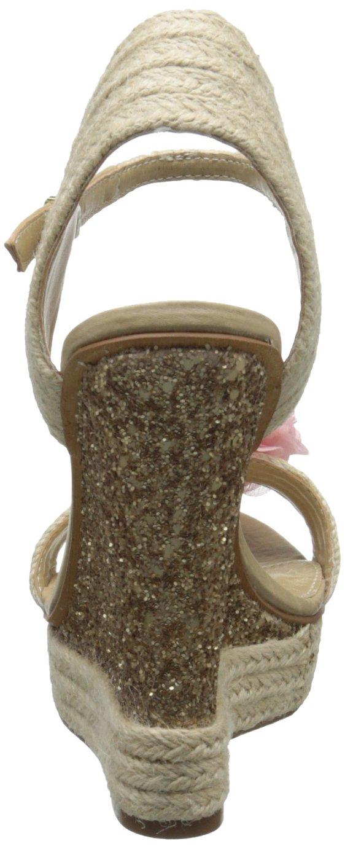 Naughty Monkey Women's Sprinkle Wedge Sandal B00GSK6HLC 9.5 B(M) US|Gold
