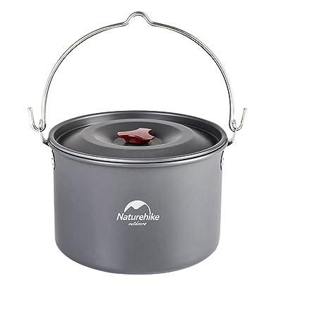 Incroyable Tentock Portable Picnic 4 6 Persons 4L Stockpot Cooking Hanging Pot  Aluminium For Outdoor Bonfire