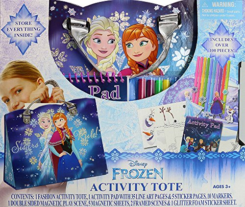 [Tara Toy Frozen Activity Tote Kit] (Baby Anna Costumes Frozen)
