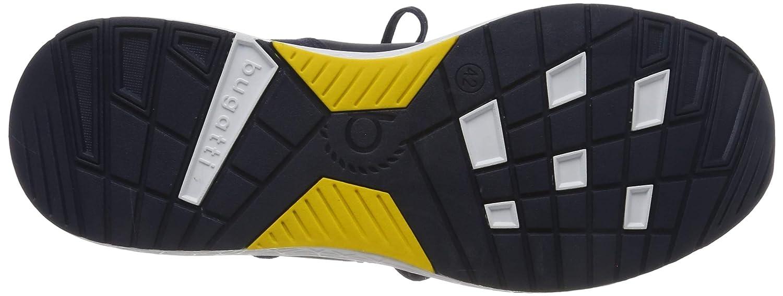 bugatti Herren 341730616900 Slip On Sneaker Blau (Dark Blue