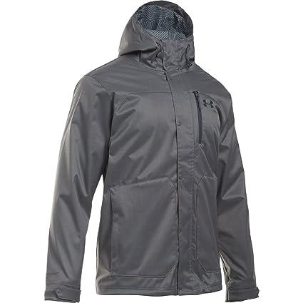 63bdba37e Under Armour Coldgear Infrared Porter 3-in-1 Hooded Jacket - Men's Graphite/