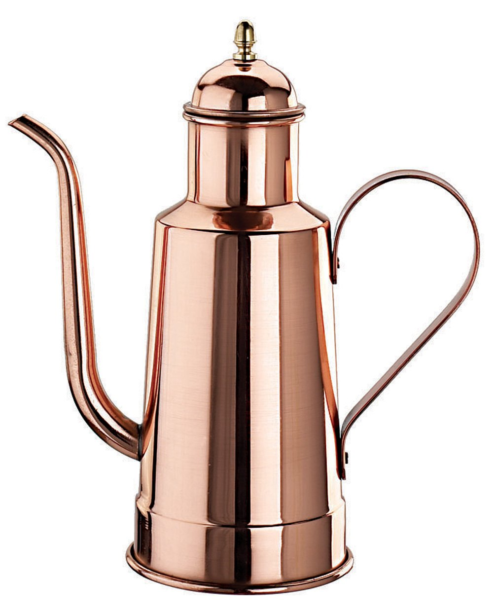 Paderno World Cuisine 9-Inch High Copper/Tin Oil Dispenser 41781-05