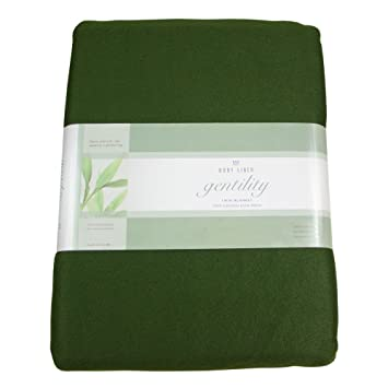 Nice Gentility© Polar Fleece Massage Table Blanket , Forest Green