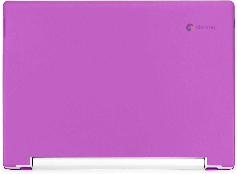"""mCover Hard Shell Case for Late-2018 11.6"""" Lenovo C330 Series Chromebook Laptop (NOT Fitting Lenovo N21 N22 N23 N24 100E 300E 500E Flex 11 Yoga 11e Chromebook) (LEN-C330 Purple)"""