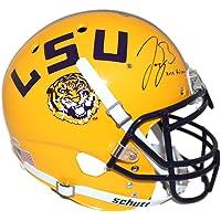 $679 » Joe Burrow Autographed LSU Tigers Authentic Yellow Helmet Heisman BAS