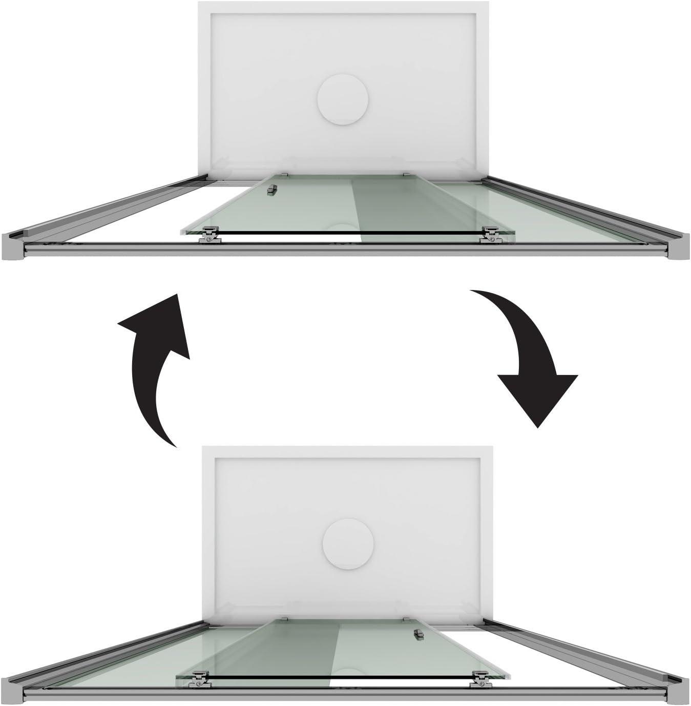 Porte Douche 100CM H185 transparent mod/èle Replay 1 Portillon