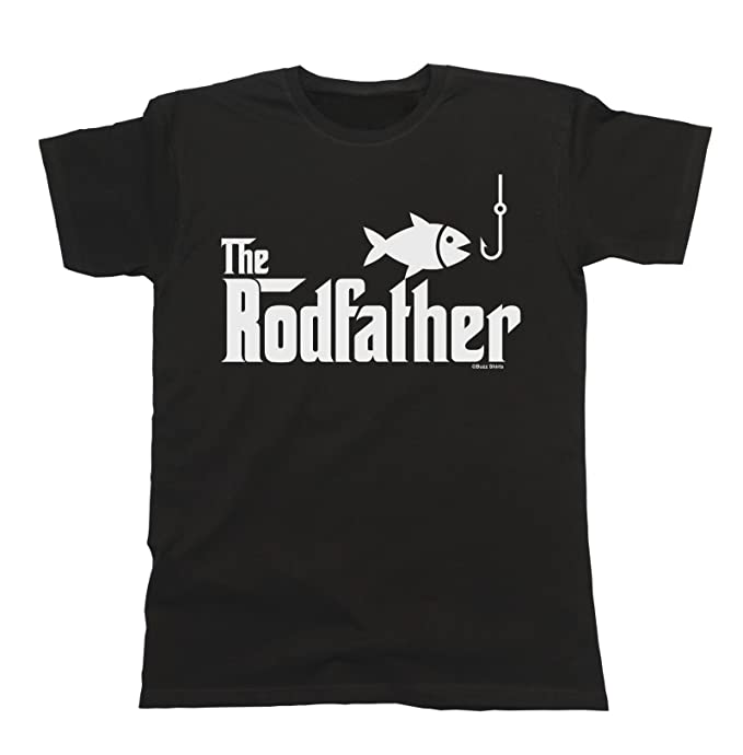 9742d1618e The Rodfather T-Shirt Mens Fishing Gift: Amazon.ca: Clothing & Accessories