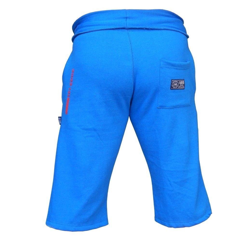 89f8276f9e07 Galleon - ARD-Champs Mens Cotton Fleece Shorts Jogging Casual Home Wear MMA  Boxing Martial Art Jogger (S-xxl) (Blue