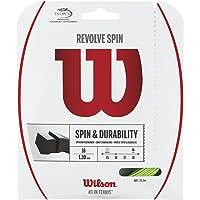 Wilson Revolve Spin (17-1.25mm) Tennis String Set (Green)