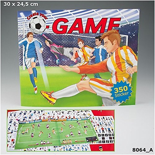 Create Your Football Game Colouring Book by Despeche