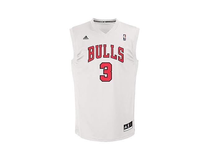 adidas INT Replica Jrsy Camiseta Chicago Bulls de Baloncesto ...
