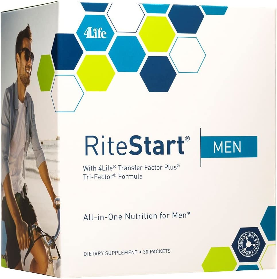 RiteStart Men by 4Life – 2 boxes of 30 packets box