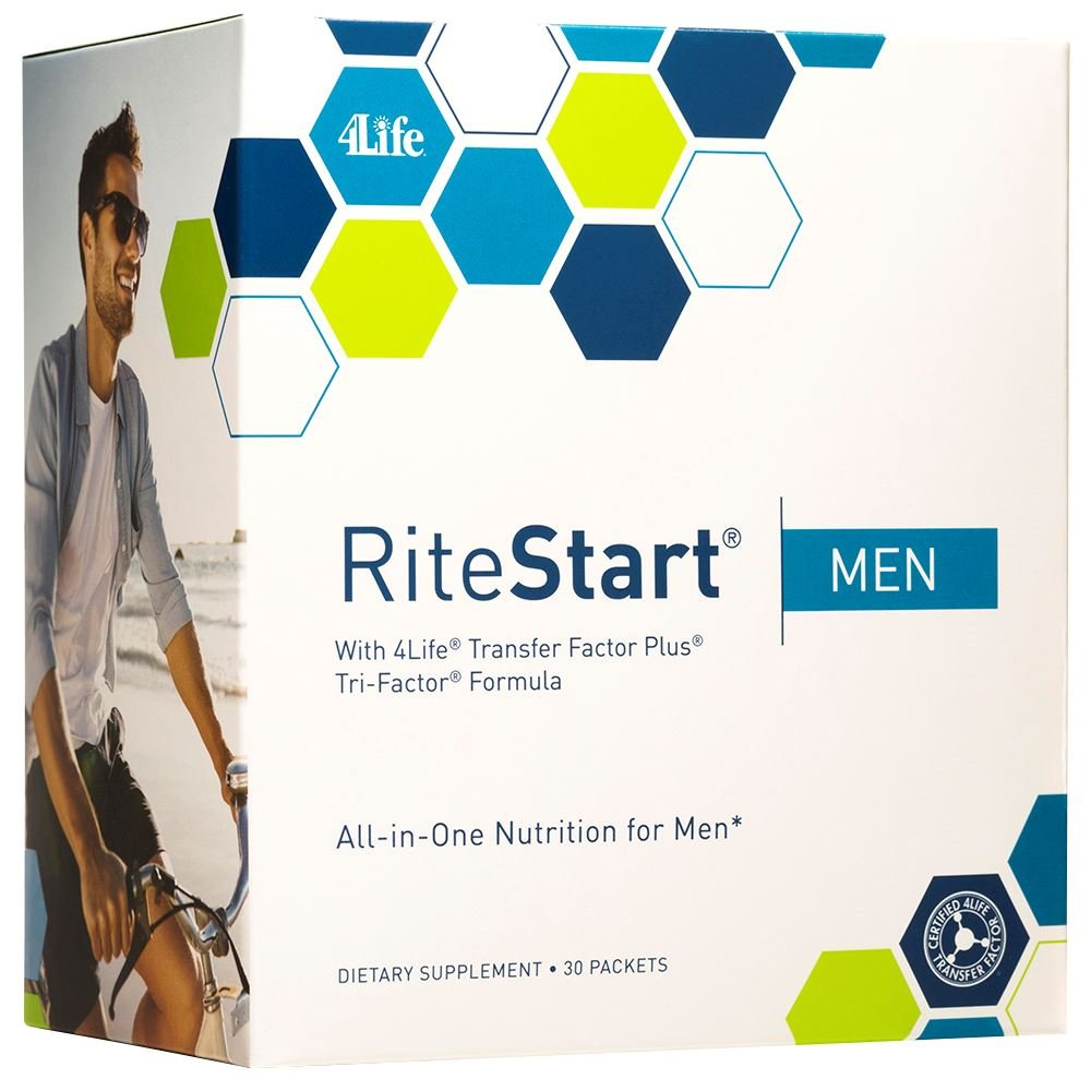 RiteStart Men by 4Life - 2 boxes of 30 packets/box