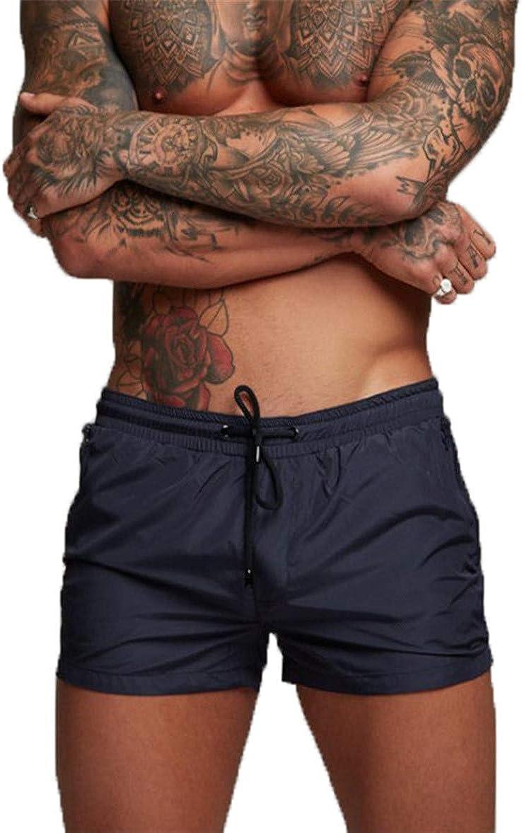 Kfnire Bañadores de natación, Pantalones Cortos de los Hombres de Secado rápido Playa Surf Corriendo Pantalones Cortos de natación Boxeadores Ligero Shorts