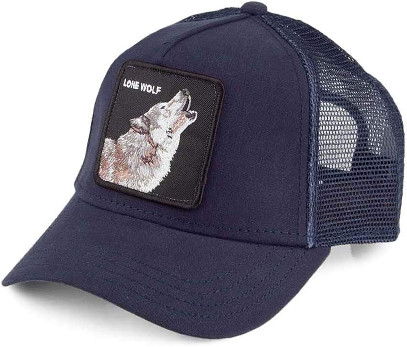 Gorra Trucker Lone Wolf de Goorin Bros. - Azul Marino - Ajustable ...