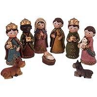 Belén de Navidad con Nacimiento y 9 Figuras