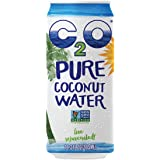 C2O Pure Coconut Water, 16.3 Fluid Ounce (Pack of 8)