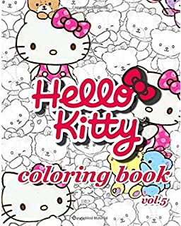 Hello Kitty Coloring Book VoL5 Stress Relieving