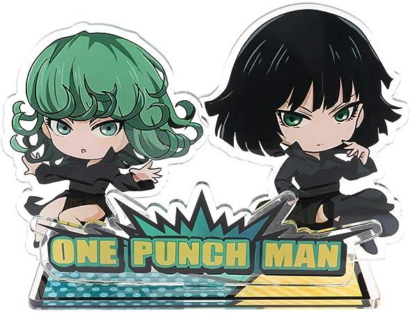 R/ésine Acrylique ALTcompluser Anime One Punch Man Figurine Debout Saitama Debout Figurine d/écorative en Acrylique Support de Bureau Miniature Motiv 1