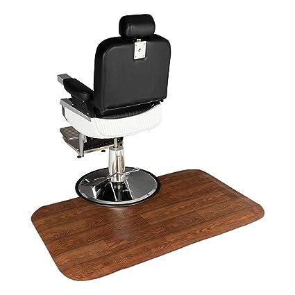 Rectangle Scissors Henf 5x3 1//2 Thick Salon Mat for Hair Stylist,Salon /& Barber Shop Chair Anti-Fatigue Floor Mat Beauty Supplier,Anti-Slip Waterproof Beauty Barber Supplies,Scissors Styling