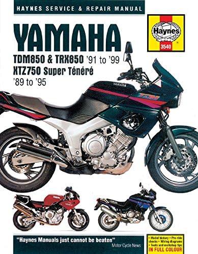Yamaha TDM 850 (Mark. 1) (Europa) 1991 – 1995 manuales – Haynes (cada)