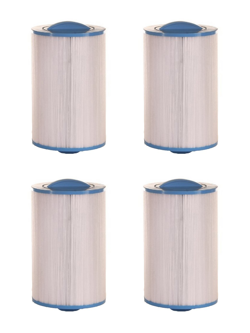 4) Unicel 6CH-47 Top Load Replacement Spa Filter Cartridges PTL47W FC-0315 4Pack