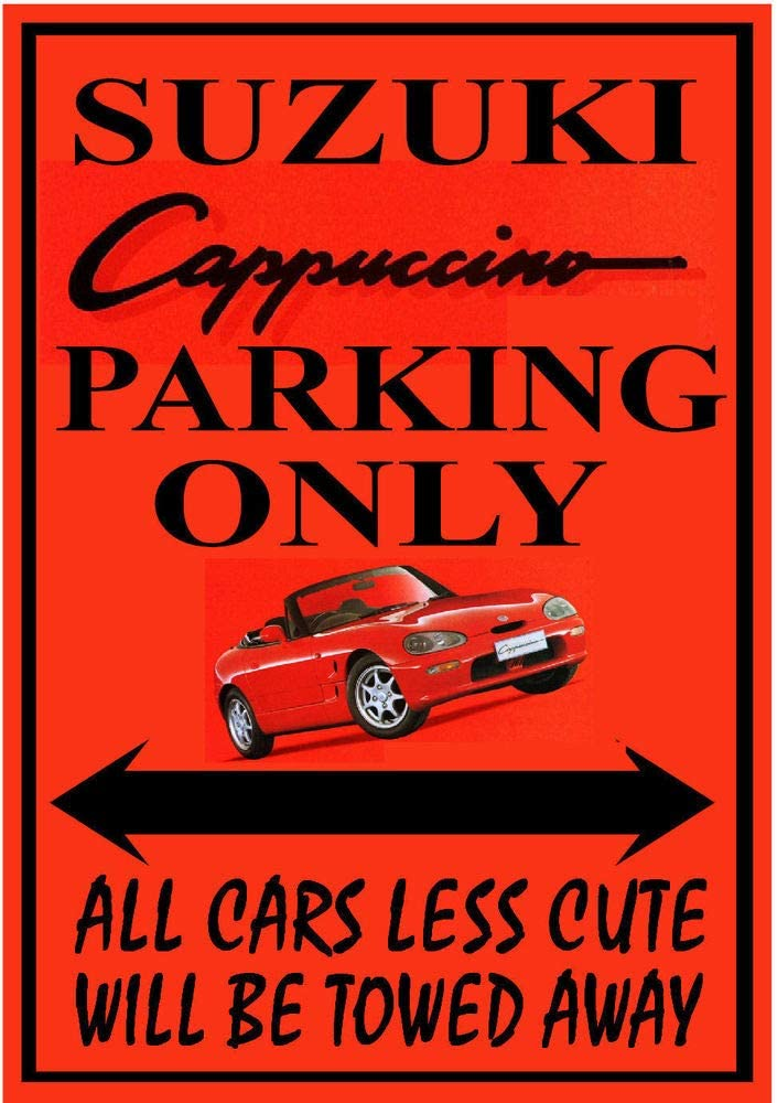 Muscle Car Parking Only NEW Humor Joke POSTER