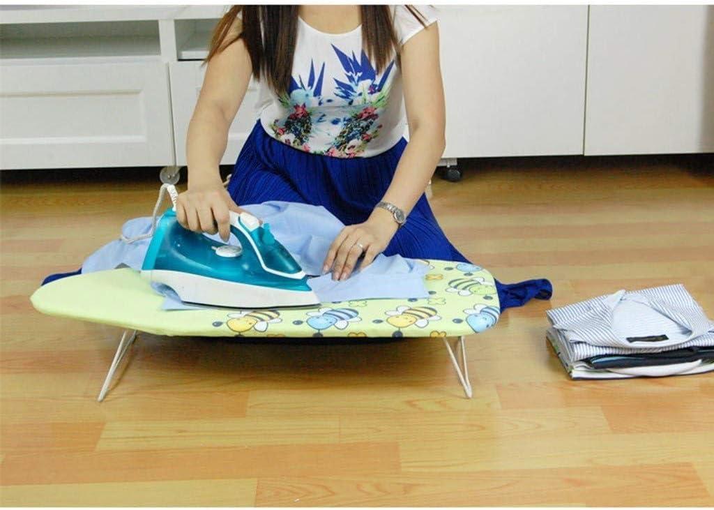 Planches à Repasser, Garde-Robe pour Enfant en Coton résistant à la Chaleur, Rose/Vert 74 * 31 * 12CM (Couleur: A, Taille: 74 * 31 * 12CM) A