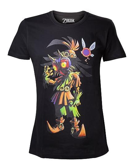 Nintendo Mens Skull Kid Majoras Mask T-Shirt - Extra Large