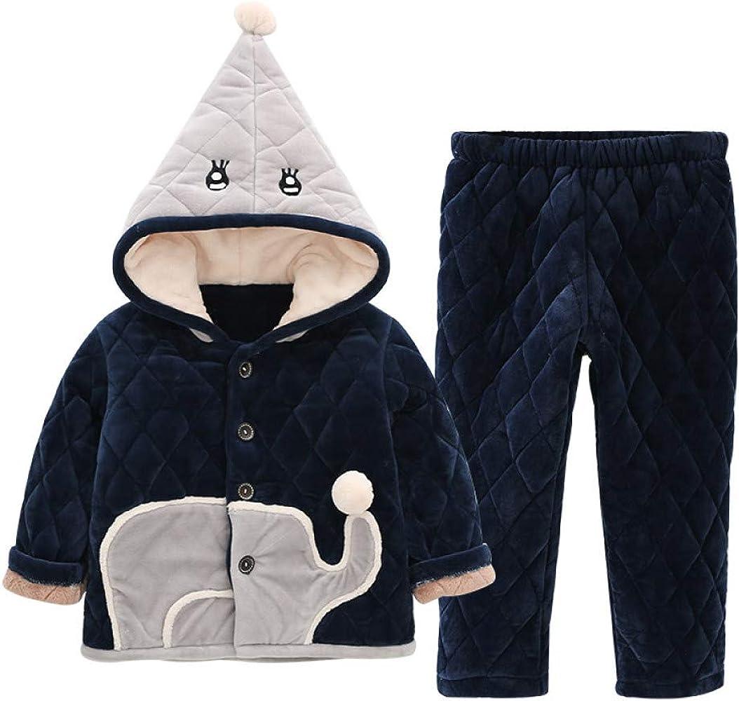 Pijamas para Niños,Pijamas De Invierno para Niños Algodón ...