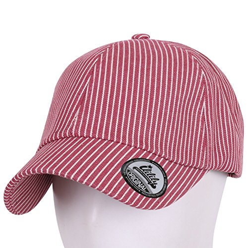 f8c72e2fe50cd4 ililily Simple Cotton Two Tone Stripe Short Bill Snapback Baseball Cap - Buy  Online in Oman. | Apparel Products in Oman - See Prices, Reviews and Free  ...