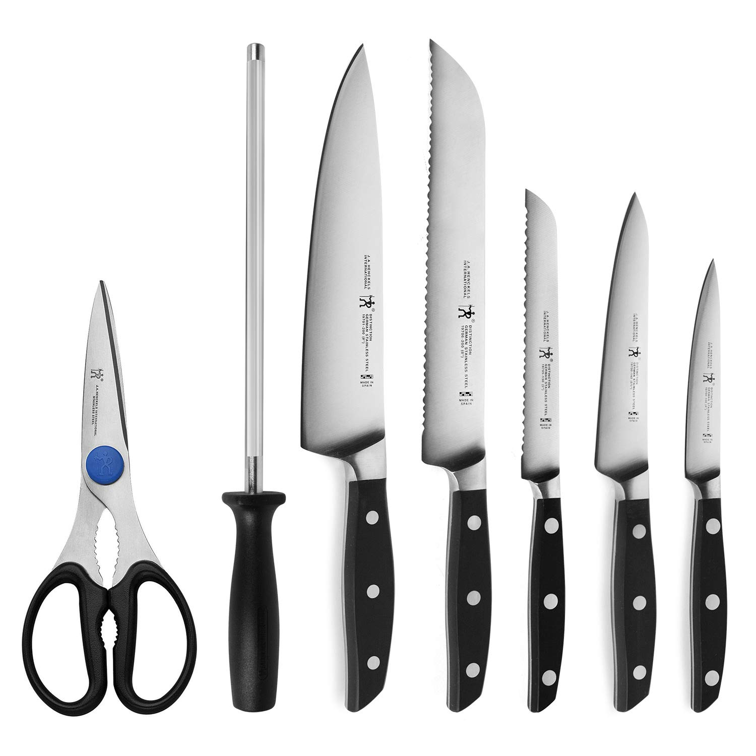J.A. Henckels International Forged Distinction 14 Piece Knife Block Set by ZWILLING J.A. Henckels (Image #2)