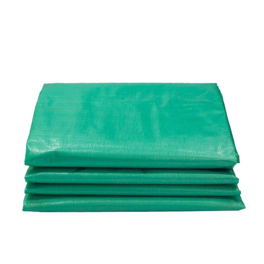 AJZGF Regenschutz Wasserdicht Starke Plane, gärtnerische grüne lichtdurchlässige windundurchlässige Hochtemperaturantioxidation der Sonnencreme, grün (Farbe   Grün, größe   3x6M)