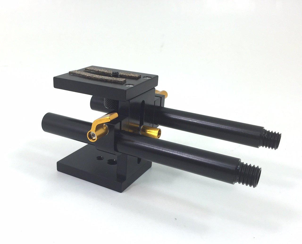 RR 100# Glide Gear 15mm Rail Rod Support System Baseplate Mount DSLR Follow Focus by Glide Gear