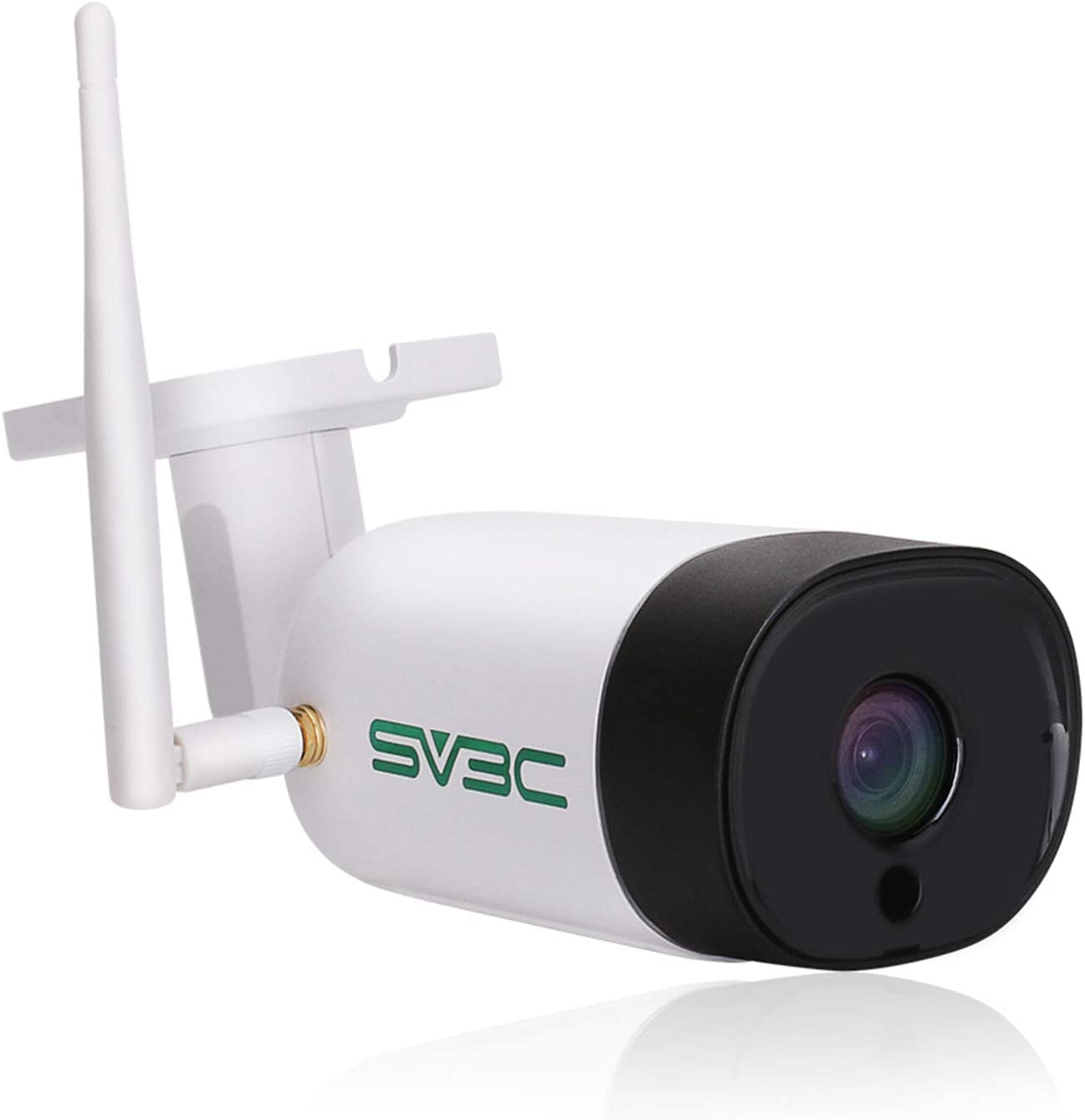 SV3C WiFi Outdoor Security Camera, 5 Megapixels Home Security Camera with HD Starlight Night Vision, Outdoor Wireless IP66 Waterproof Camera, Two Way Audio, Motion Alert, ONVIF, Max 128GB SD Card