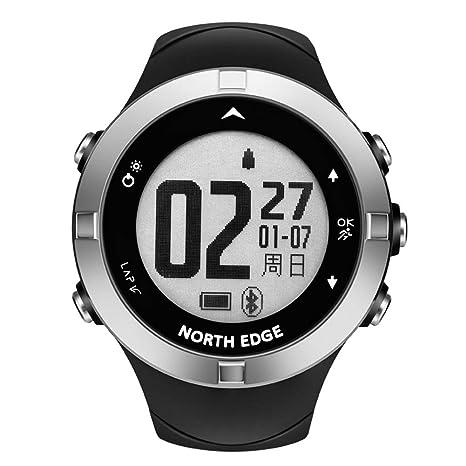 OOLIFENG GPS Al Aire Libre Reloj Aventurero Relojes para Triatlón Alpinismo Excursionismo